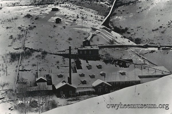 DeLamar Mill Winter 1910
