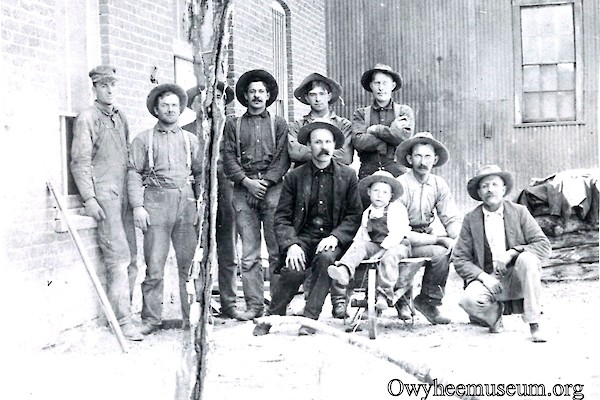 DeLamar Mill Workers 1906