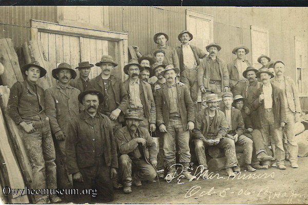 DeLamar Miners October 1906
