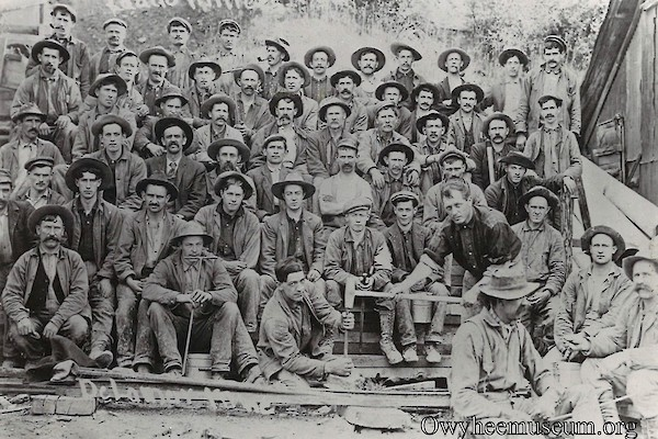 Trade Dollar Miners at the Blaine Mill